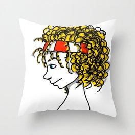 Poppy Popcorn   Veronica Nagorny Throw Pillow
