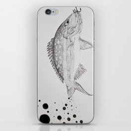 Yellow Tailed Snapper iPhone Skin