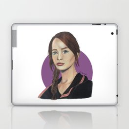 Katniss // Lavender Laptop & iPad Skin
