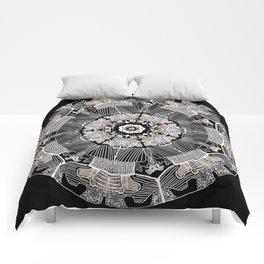 GoldenMandala Comforters