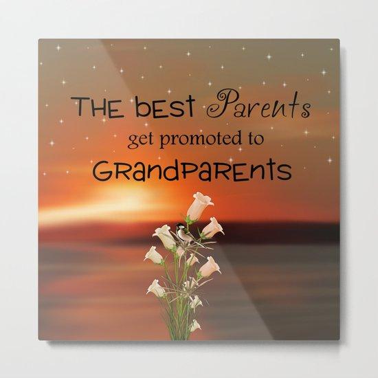 Grandparents Metal Print