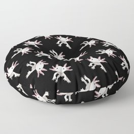 Axolotl Print Floor Pillow