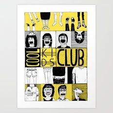 Cool Kids Club Art Print