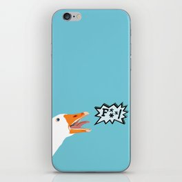 Angry Goose iPhone Skin