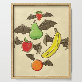 Fruit Bats Serving Tray