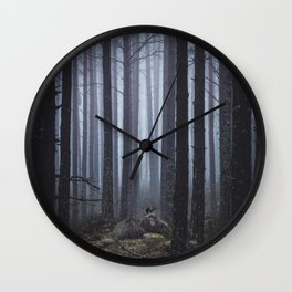 My Secret Garden Wall Clock
