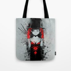 Top Hat Lady Tote Bag