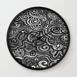 Octopi Garden Wall Clock