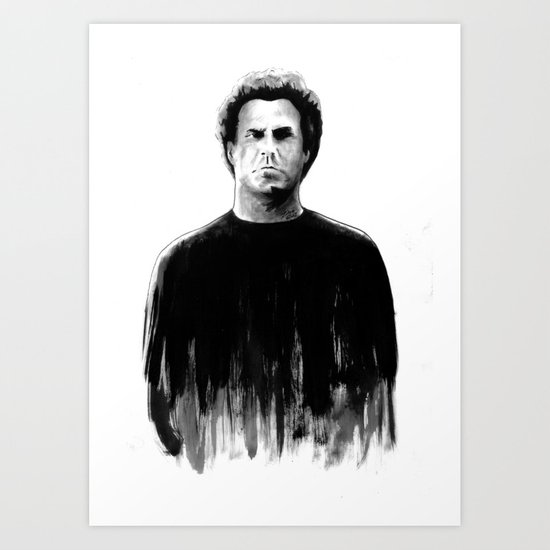 DARK COMEDIANS: Will Ferrell Art Print
