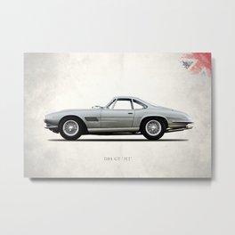 The DB4GT Jet Metal Print