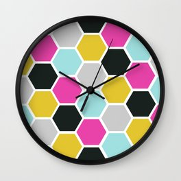 Tile Me Up #1 Wall Clock