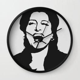 Anna laughing Wall Clock