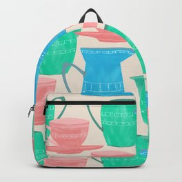 Jugs and Cups Pattern Backpack
