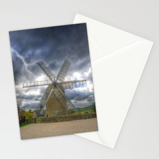 Heage Windmill storm Stationery Cards