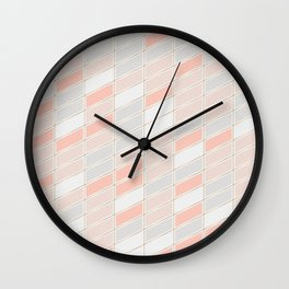 Pattern Rose 1 Wall Clock