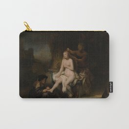 "Rembrandt Harmenszoon van Rijn, ""The Toilet of Bathsheba"", 1643 Carry-All Pouch"