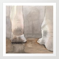 heels Art Prints featuring Heels by Kyle Anderson