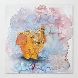 Trumpaphant Canvas Print