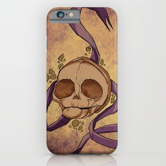 Skull and ribbon  iPhone & iPod Case