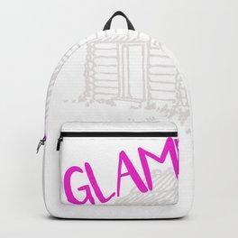 Glamping Girl Love to Glamp Happy Glamper Backpack