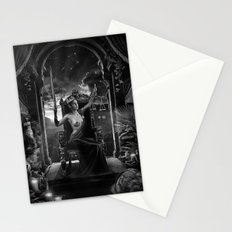 XI. Justice Tarot Card Illustration Stationery Cards