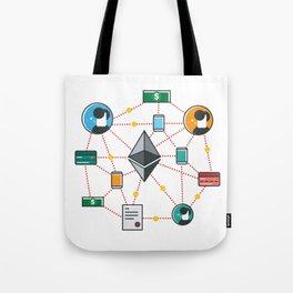 Ethereum Transactions Tote Bag