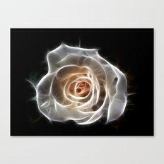 Rose of Light Canvas Print