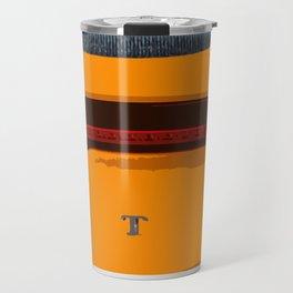 Lotus orange Evora Travel Mug