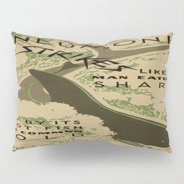 Vintage poster - Pneumonia Pillow Sham