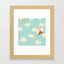 Let's go Fly a Kite Framed Art Print