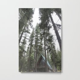 A Frame Cabin Metal Print