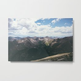 The Sawatch Range Metal Print