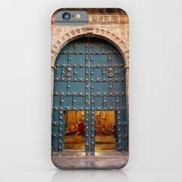 Faith Opens Doors iPhone Case