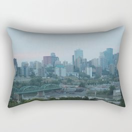 Downtown Edmonton Rectangular Pillow