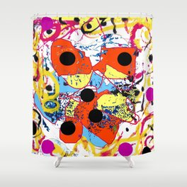 Challenges of LIFE            by Kay Lipton Shower Curtain