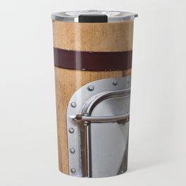Wooden tank barrel for wine Travel Mug