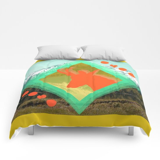 chamois d'or Comforters