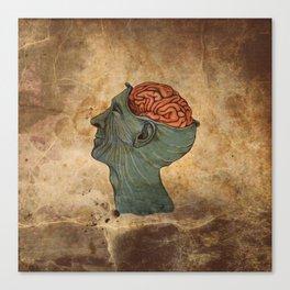 Mind Wide Open Canvas Print