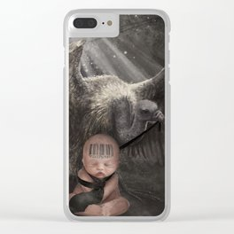 Vultures Clear iPhone Case