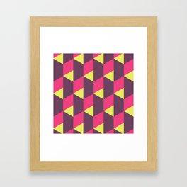 Reflect Steps Framed Art Print