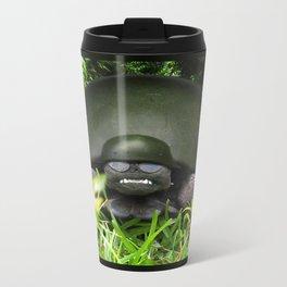 Slow Commando - Army Turtle Metal Travel Mug