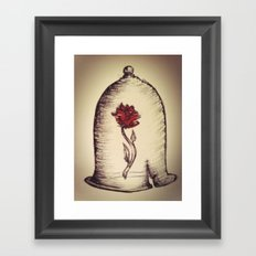 The Rose and the Bell Framed Art Print