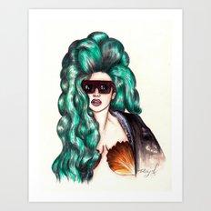 Aphrodite Lady VENUS #2 Art Print
