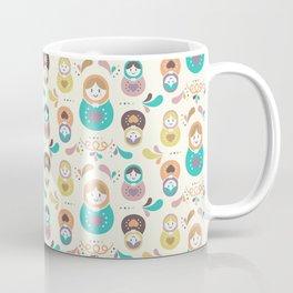 Russian Doll Matryoshkas Beautiful Design Coffee Mug