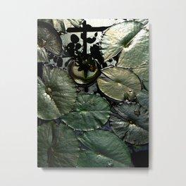 Lily pads Metal Print