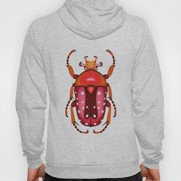 Orange and Red Beetle Hoody