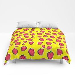 Fresas de primavera Comforters