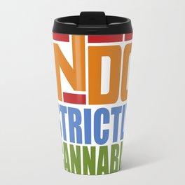 """""""STRICTLYANNABIS"""" Travel Mug"""