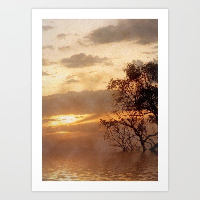 Sunset Moods Art Print