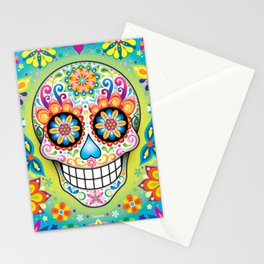 Sugar Skull Art (Jubilee) Stationery Cards